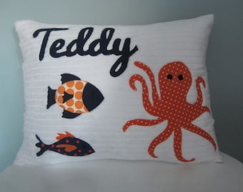 Under the Sea Personalized Pillow