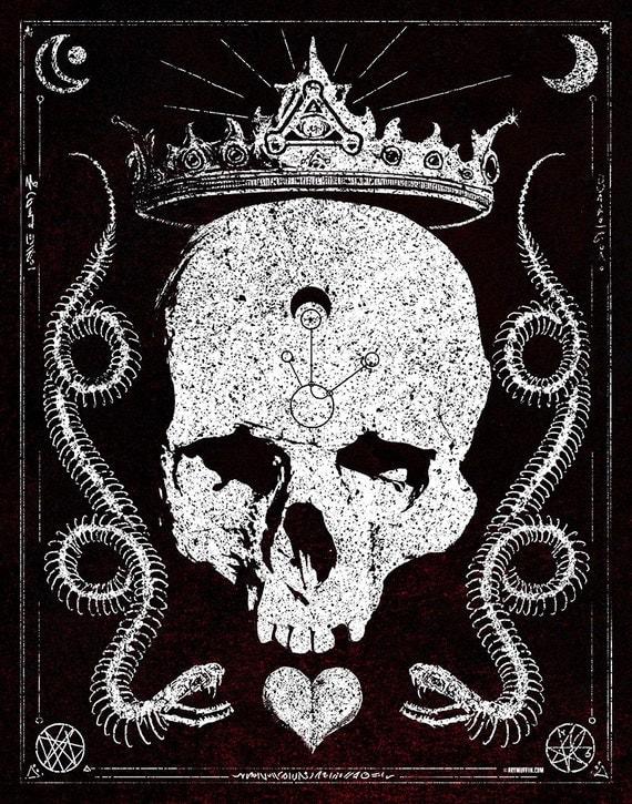 King Snake print