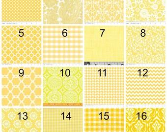 Yellow Neckties, Wedding Neckties, Mens Neckties, Groomsmen Neckties, Custom Yellow Neckties