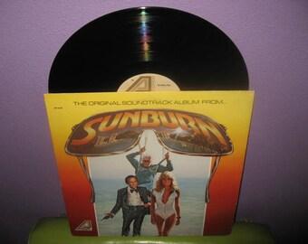 SHOP CLOSING SALE Rare Vinyl Record Sunburn Original Soundtrack Lp 1979 Disco Farrah Fawcett 10 Cc