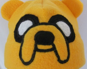 Adventure Time Jake the Dog Hat Cosplay Costume Accessory Child Adult XS S M L XL