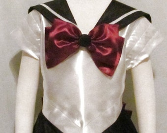 Child's Sailor Pluto Costume Cosplay Costume Size Girls 2 3 4 5 6 7 8 9 10 11 12 14 Sailor Moon