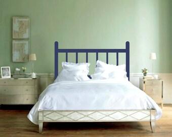 Traditional Headboard - Bedroom Wall Decals