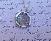 Fingerprint Necklace made from your  ACTUAL fingerprint