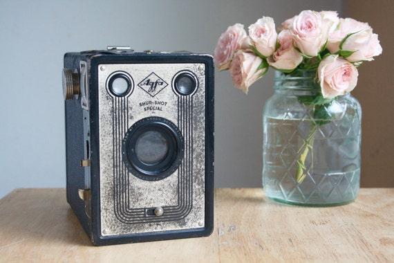 Camera, Agfa Shur Shot Special, Art Deco