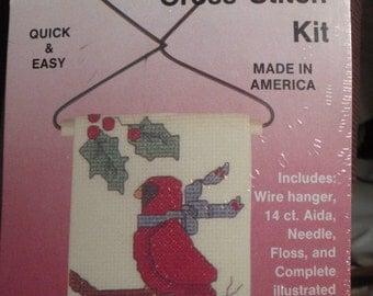 Christmas Cross-Stitch Kit - Country Treasures