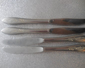 Four Lily of the Valley Knives