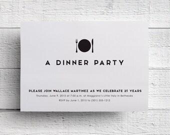 invitation for dinner