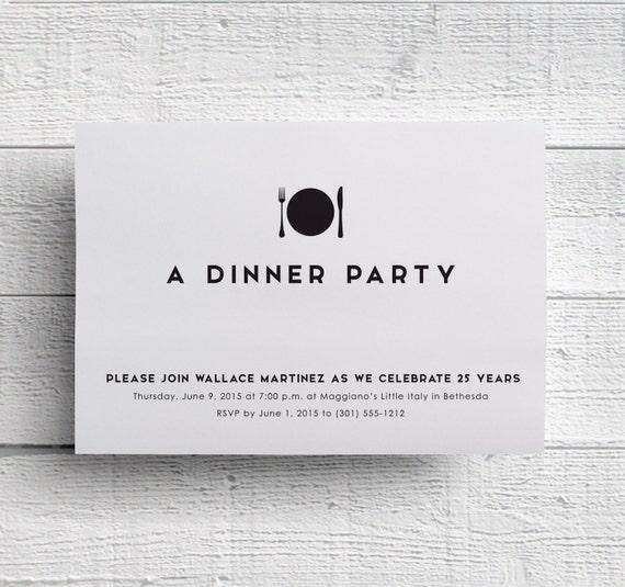 Dinner invitation company dinner corporate dinner like this item stopboris Gallery