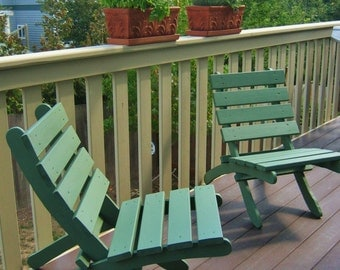 Storable chairs etsy for Condo balcony furniture