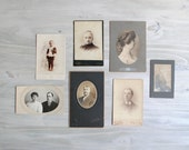 Vintage Antique Photo Collection - Lot of 7