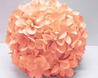 baby coral flower pillow round pouf circular pillow fibre pillow nursery decor baby pillow sofa pillow bedroom decor wedding home decor gift