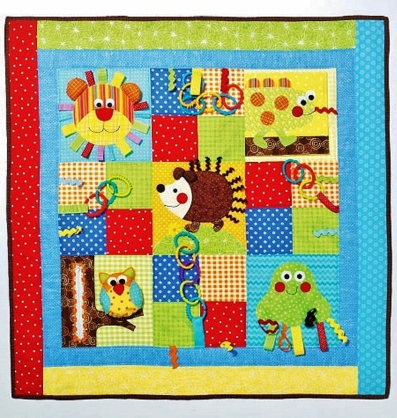Quilting Slider Mat: Wee Ones' Play Quilt Pattern Baby Play Mats Pattern By Blue510