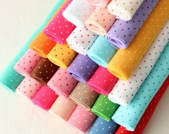 Polka Dot Felt - You Choose 5 9x12 inch sheets