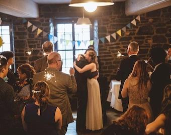 Vintage Wedding Decorations / Rustic Wedding Decor / Wedding Decorations Rustic / Fabric Bunting / Barn Wedding Decor / Rustic Wedding