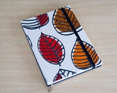 Autumn Leaves Journal. Unlined Notebook. Travel Journal. Diary. Autumn. Red. Orange. Brown.