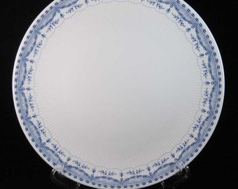 Mitterteich Dresden Blue Dinner Plate Pattern #63017