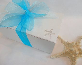 """PICK Your RIBBON COLORS!! , Wine Glass Gift Boxes, Gift Box for Wine Glasses, White Gift Boxes, Gift Wrap, 9"""" x 4"""" x 4"""", Champagne Gift Box"""