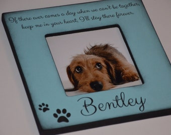 Personalized Dog Frame, Personalized Cat Frame, Custom Pet Frame, Memorial Dog Frame, We Love Our Pet Frame