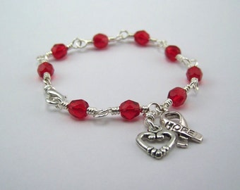 Atrial Fibrillation Awareness Bracelet