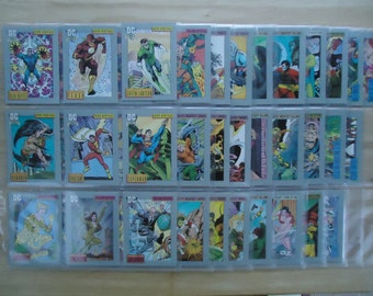 Eighty-Five Vintage 1992 - Series 1 DC Comics Trading Cards