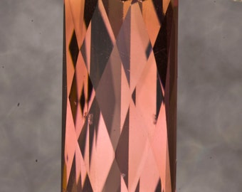Tourmaline Diamond Cut 12 x 6mm 3.20 carat Grade AA