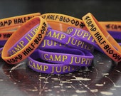 Greeky Geeky Silicone Bracelets.  Camp bracelets.  Whose camp are you in??