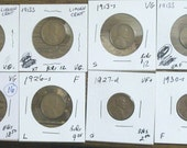 1909-V.D.B., 1922-d, 1910-s, 1913-s, and 7 other Lincoln cents in nice condition plus rolls --Reserved for Juan