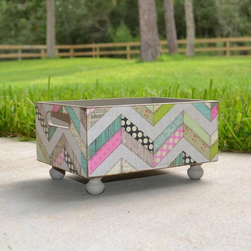 an extra large decorative storage bin countertop by artbysunfire. Black Bedroom Furniture Sets. Home Design Ideas