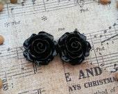 Flower Plugs  Gauges  Black Roses