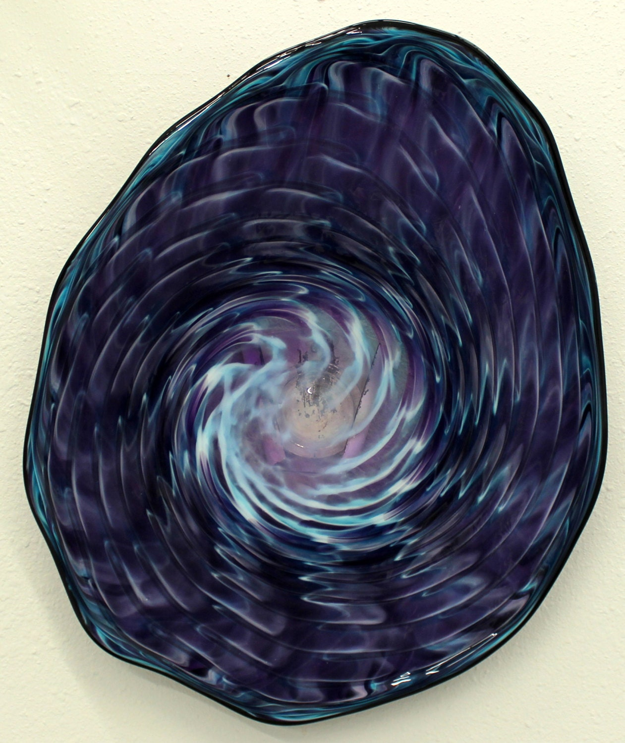 Glass Blowing Wall Decor : Beautiful hand blown glass art patterned wall by oneilsarts