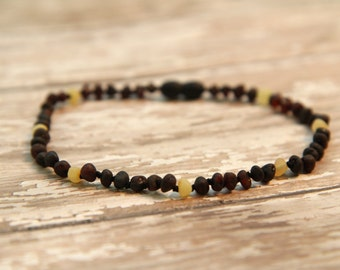 Baltic Amber Teething Necklace Baby Toddler Healing By