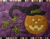 Trick or Treat Mug Mat PDF Pattern