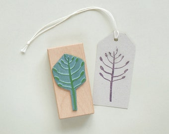 Rubber Stamp: Agave Tree