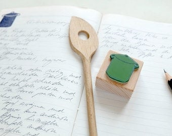 Rubber Stamp for your kitchen: Cooking Pot