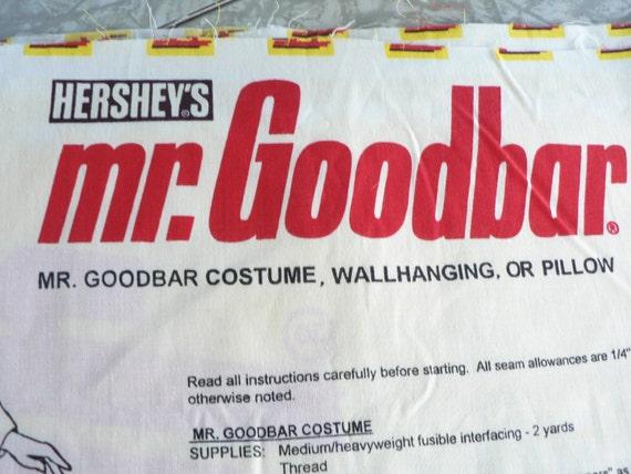 Mr Goodbar Costume Hershey's Mr. Goodbar ...