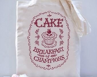 Cake Breakfast of Champions Bag