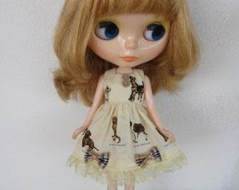 Kawaii Dress for Blythe doll