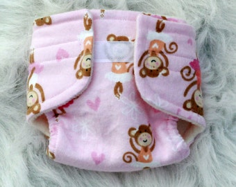 Baby Doll Diaper Dancing Monkeys - Size Large