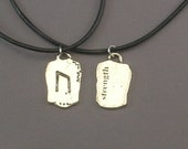 Strength Rune Pendant Necklace