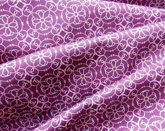 Mosaic Purple Fabric Bazaar Style by Art Gallery Fabrics BA-309