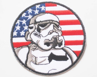 Free shipping STAR WARS STORMTROOPER Patch Badge G