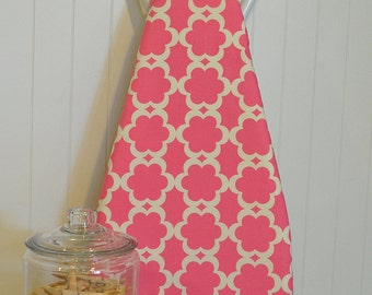 Designer Ironing Board Cover - Dena Designs - Tarika Fuschia