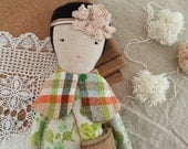 Cloth Doll - Delilah by moose & bird