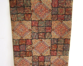 Very Cool Vintage Wool Rug 52 x 27 Number 2