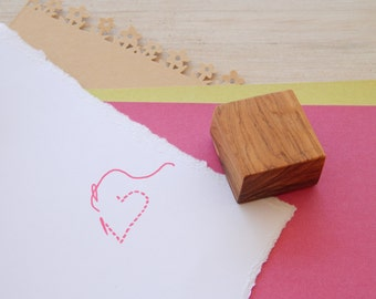 Love to Sew Olive Wood Stamp