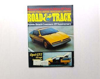 Road & Track Magazine - December 1975 - Maserati Khamsin Alfa Romeo Porsche 912 Delorean - Car Dude Cool - Gear Head - Great Gift