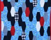 """Penguin Quilt, 57"""" X 78"""""""