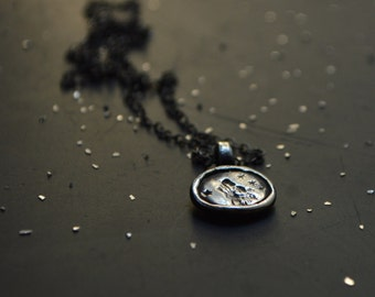 Wolf + Stars Necklace by Peg and Awl