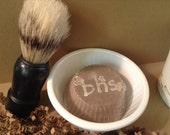 GIFT Pack Set- Natural Conditioning SHAVING Soap + BRUSH set ~~Free U.S. Shipping